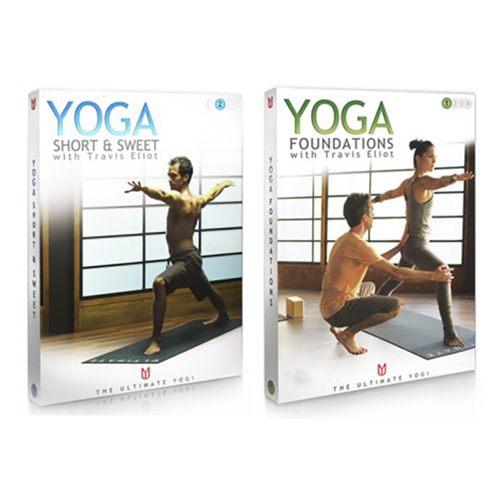 Yoga Foundations and Yoga Short & Sweet with Travis Eliot is now availabll in streaming format on UDAYA.com